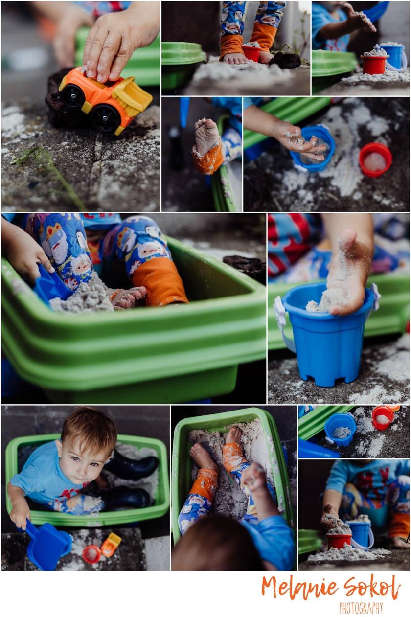sandbox Collage